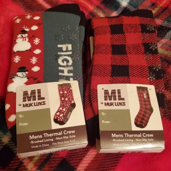 Muk Luks X mas socks
